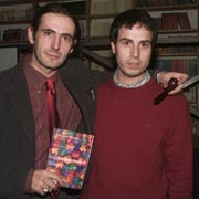 Roma dicembre 2002. Gli autori.