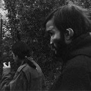 Soratte aprile 2003. Da questa scampagnata in montagna e da scatti in bianco e nero come questo Marco tirerà fuori dal suo cilindro la copertina per il libro Denio.