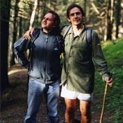 Taisten agosto 2003. Passeggiata nei boschi con Guido e pantaloni calanti nei pressi del Gailerhof.